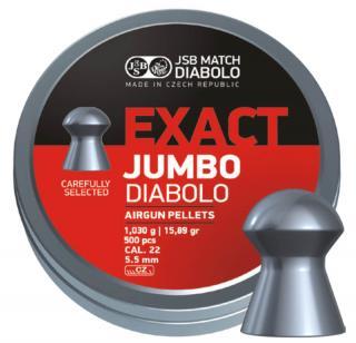 Пули для пневматики Exact Jumbo Diabolo 5,5мм 1,03гр. (500шт)