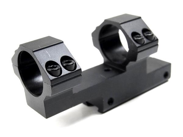 Кронштейн LEAPERS AccuShot с кольцами 25,4 мм, для установки на призму 10-12 мм, высокий, вынос базы KR=38 mm (RGPMOFS38-25H4)