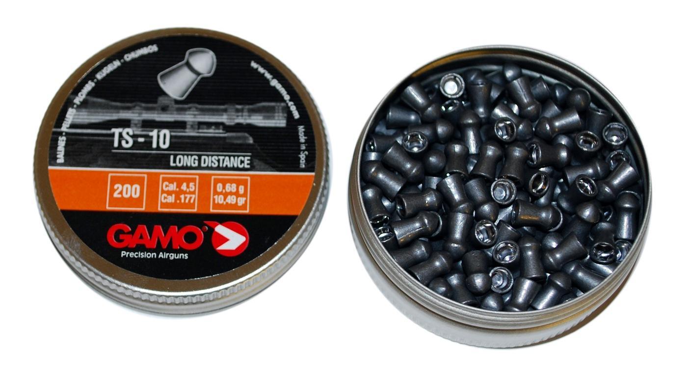 Пули для пневматики Gamo TS-10 4,5 мм 0,68 гр (200 шт.)