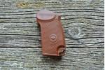 Рукоять для МР-371 пластик, коричневая со звездой