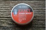 Пули для пневматики JSB Exact Jumbo Beast 5,52мм 2,2г (150шт)