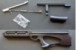 Комплект Буллпап для Hatsan BT-65 NEW (влагостойкая фанера, эбеновое дер.) KBN65-2FE