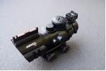 Прицел призматический, оптический комплекс SNIPER 4x32 с подсветкой