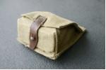 Подсумок брезент на 2 гранаты, оригинал СССР