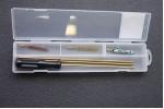 Набор для чистки оружия PATRIOT латунный шомпол 6,35мм
