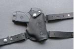 Кобура для аэрозольного пистолета Пионер, оперативная, кожа