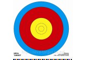 Мишень лучно-арбалетная FITA 80 см. центр 5 колец. D-40см (Бумага 140г/м)