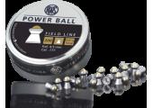 Пули для пневматики RWS Power Ball 4,5мм 0,61г (200шт)
