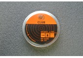Пули для пневматики RWS Club 4,5мм 0,45гр (500шт)