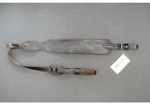 Ремень ружейный фигурный однослойный тиснёный на пряжке с противоскользящей подкладкой РРФТ-20П-105-М-П