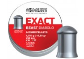Пули для пневматики JSB Exact Beast Diabolo 4,5мм 1,05г (250 шт)