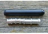 Саундмодератор цельный для PCP винтовок Hatsan, Kral кал. 5,5 и 6,35мм (6 камер)