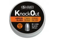 Пули для пневматики JSB KnockOut Slugs 5,49мм 1,645г (200 шт)