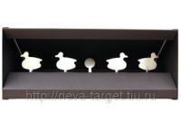 Минитир/ловушка для пуль, SNP-6, 4 уточки