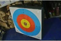 Лучный блок 500*500*100 с системой крепления   мишень
