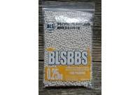 Шарики для страйкбола BLS 0,25 (1кг/уп, белые)