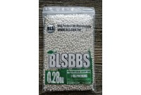 Шарики для страйкбола BLS 0,28 (1кг/уп, белые)