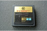 Пули для пневматики RWS R10 MATCH Plus (Premium Line), 4,5мм 0,45 гр (100шт)