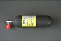 Баллон композитный Геро-М 4л со встроенным манометром