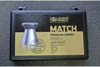 Пули для пневматики JSB Match Premium Light 4,5мм 0,475гр (200шт)