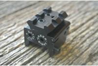 Целеуказатель лазерный BH-LGR01 подствольный (красный луч) на Weaver с планкой