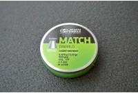Пули для пневматики JSB Green Match Diabolo 4,5мм 0,475г (500шт)
