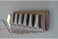 Патронташ открытый на прикла для гладкоствольных ружей на 6 патронов