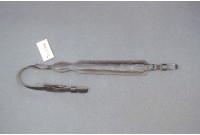 Ремень ружейный фигурный трёхслойный тиснёный мягкий ЛюксМ на пряжке с противоскользящей подкладкой