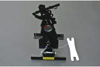 Мишень для пневматики подъемная металл. Ф-7