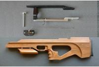 Комплект Буллпап для Weihrauch HW 100 (массив ореха, масло) KBWH-OM