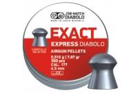 Пули для пневматики JSB Exact Express Diabolo 4,5мм 0,51гр. (500шт)