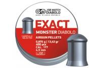 Пули для пневматики JSB Exact Monster Diabolo 4,5мм 0,87гр. (400шт)