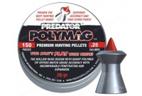 Пули для пневматики JSB Predator Polymag 6,35мм 1,645 г (150шт)