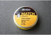Пули для пневматики JSB Match Diabolo Middle 0,52гр. кал. 4,49мм (500шт)