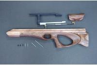 Комплект Буллпап для Hatsan BT-65 NEW (вл/ст фанера, палисандр. пропитка) KBN65-1FPPR