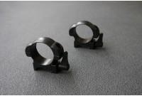 Кольца 30мм на вивер флажковые стальные быстросъемные низкие