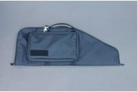Кейс VEKTOR А-101 из капрона с пенополиэтиленом, черный с карманом, 83 см
