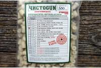 Войлочные патчи ЧИСТО GUN кал. 6,35мм d=7,5мм (500шт)