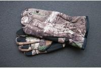 Перчатки охотника и рыбака антискользящие, камуфляж