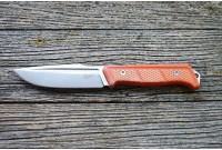 Нож Kizlyar Supreme Baikal сталь D2 Stonewash, рукоять G10