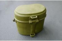 Котелок армейский зеленый, с хранения