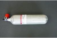 Баллон композитный ВД ALSAFE 3л вентель с манометром