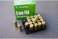 Патрон 9PАK 9x22 холостой, пистолетный Техкрим (20шт)