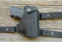 Кобура для аэрозольного пистолета Премьер-4, оперативная, кожа