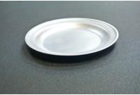 Тарелка алюминиевая мелкая 23см