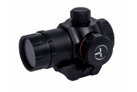 Коллиматор Target Optic 1х22 закрытого типа на Weaver, красная точка