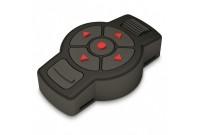 Пульт ATN X-TRAC для приборов ATN, Bluetooth 4.1, 6 кнопок+ролик, CR2450, влагозащита, 80х50х21мм, пластик, черный, 50г