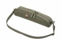 Чехол под оптику Vektor, нейлоновый с мягкой подкладкой и ремнем, длина 36 см, высота 11 см, зеленый