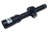 Прицел Bushnell ELITE 6500 1-6.5x24M, 30мм., сетка 4A, c подсветкой, красн., клик=0,1MIL, RainGuard HD, черный, 500гр.