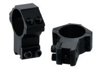 Кольца LEAPERS AccuShot 30мм, на призму 10-12 мм, высокие